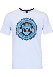 Camiseta Fatal Estampada 20337 - Masculina - Branco