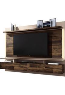 Painel Bancada Suspensa Para Tv Até 60 Pol. Limit 2.2 Deck/Off White -