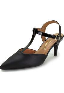 Sapato Feminino Chanel Vizzano - 1185782 Preto 34