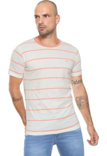Camiseta Yachtsman Listras Branca