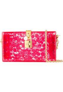 Dolce & Gabbana Bolsa Clutch 'Dolce Box' - Vermelho