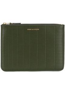 Comme Des Garçons Wallet Carteira Brick Line - Verde