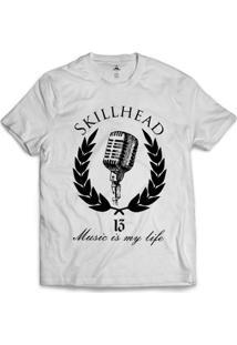 Camiseta Skill Head Microphone - Masculino
