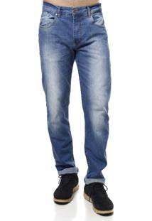 Calça Jeans Guitta Rio Azul