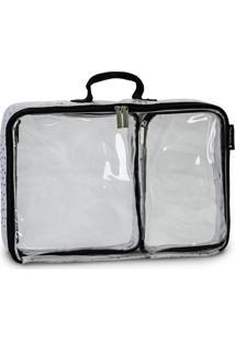 Kit Organizador De Mala Maternidade Masterbag Baby Nylon Com 3 Peças | Cor: Preto