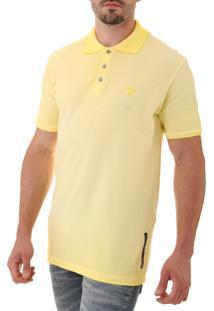 Camisa Polo Opera Rock Stone Oprk Amarelo