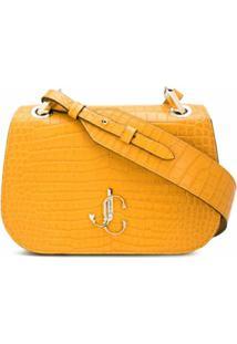 Jimmy Choo Bolsa Transversal Varenne - Amarelo