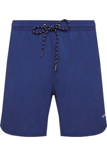 Short Masculino Traveller Liso - Azul