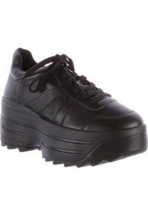 Tênis Damannu Shoes Chunky Donna Feminino - Feminino-Preto