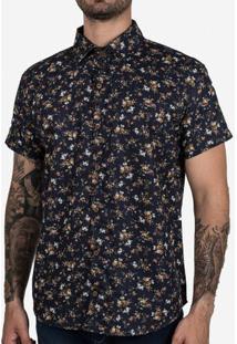 Camisa Micro Estampa Floral 200300