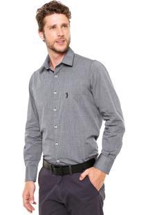 Camisa Aleatory Full Slim Cinza