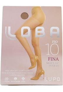Meia Calça Lupo Make Up Fusion - Feminino-Nude