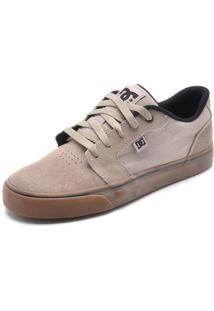 Tênis Dc Shoes Anvil La Bege