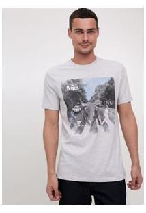 Camiseta Com Estampa Beatles