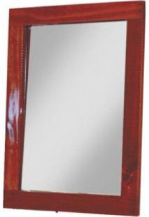 Quadro De Espelho Imperatriz Tradicional 49,5Cmx34,5Cm Rodmóveis Mel