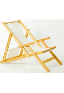 Cadeira Dobrável Com Braços Opi Tec.01.237 Amarelo Mão E Formão