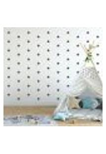 Adesivo Decorativo De Parede - Kit Com 140 Estrelas - 005Kab11