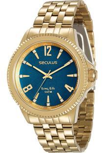 Relógio Seculus Feminino Long Life 28664Lpsvda3