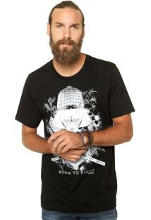 Camiseta Sommer Reta Preto