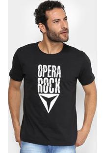 Camiseta Opera Rock Estampada Masculina - Masculino
