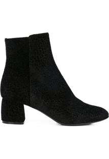 Agl Bota Animal Print - Preto