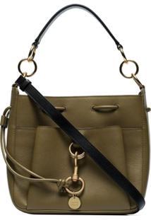See By Chloé Top Handle Shoulder Bag - Verde