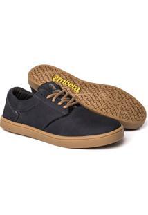 Tênis Embora Footwear Vortex Masculino - Masculino-Marinho+Caramelo