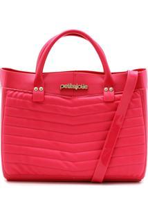 Bolsa Petite Jolie Matelassê Pink