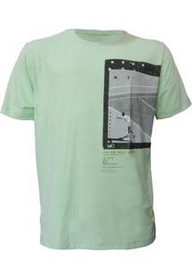 Camiseta Mormaii Aloha Melt - Masculino-Verde
