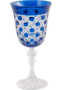 Taça De Cristal Lodz Para Vinho De 170 Ml Wice