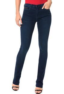 Calça Calvin Klein Jeans Five Pockets Rckr Kick Marinho - 40