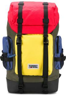 Tommy Hilfiger Block Panel Hiking Backpack - Preto
