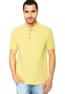 Camisa Polo Calvin Klein Jeans Ckj Amarelo
