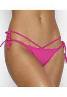 Calcinha Tanga Com Amarração- Pink- Arsiéarsie