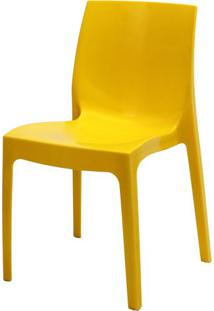 Cadeira Ice Polipropileno Amarelo - 22720 - Sun House