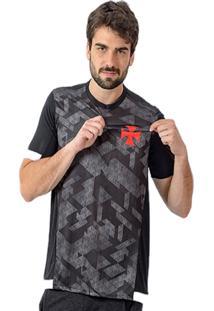Camisa Km/H Braziline Nordic Vasco Preta