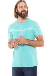 Camiseta Doc Dog Manga Curta Tie Dye Azul