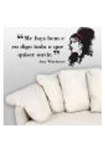 Adesivo De Parede Amy Winehouse - Grande