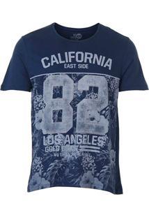Camiseta Masculina Km - Marinho