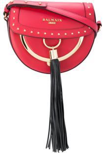 Balmain Bolsa Tiracolo Com Tassel - Vermelho