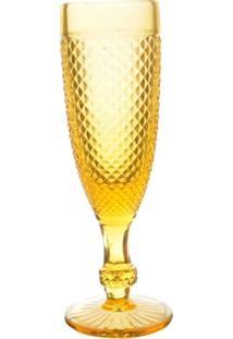 Taças Champagne Ambar Bico De Jaca 6 Peças - Tricae