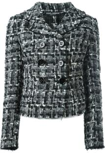Dolce & Gabbana Jaqueta De Tweed - Preto