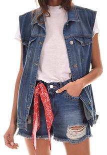 Colete Lorsa Jeans Oversize
