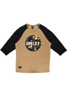 Camiseta Especial Surface Graphic 3/4 Oakley