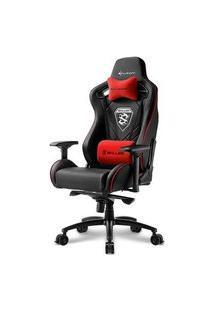Cadeira Gamer Sharkoon Shark Skiller Sgs4 Black Red
