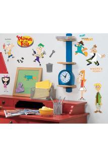 Adesivo De Parede Phineas & Ferb Coleção