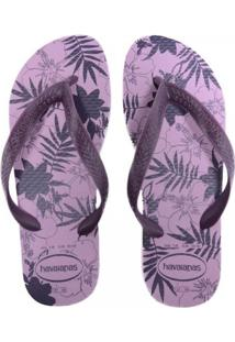Sandália Havaianas Color Floral Feminina