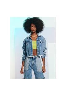 Jaqueta Jeans Clássica Athr