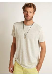 Camiseta John John Rx Ryan Malha Cinza Mescla Masculina Tshirt Rx Ryan-Cinza Mescla Claro-G
