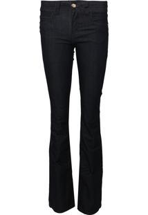 Calça Jeans Colcci Flare Cory Azul-Marinho